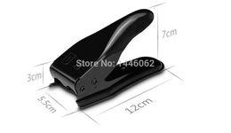 Wholesale Dual Sim Cards Adapter - Wholesale-2pcs lot 2 in 1 Dual Sim Card Cutter Adapter Cutting Nano & Micro Sim Cutter for iphone 4s  4G iPhone 5 Samsung Motorola