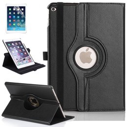 Wholesale Orange Leather Ipad Mini Case - For iPad Mini & Mini 2 & Mini 3 360 Rotating PU Leather Flip Case Cover With Stand For iPad mini Case Free Shipping by attop