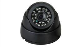 Wholesale High Quality Dome Security Camera - high quality Home Security Camera Camcorder 24 Leds IR Dome Camera Night Vision CCTV Camera Woshida