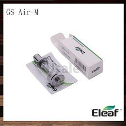 Wholesale Mega Best - Ismoka Eleaf GS Air-M Atomizer 4ml GS Air Mega Tank Dual Coil Airflow Adjustable Clearomizer Best Match Eleaf iStick 20W 100% Original