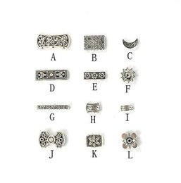 Wholesale March Necklace - 100Pcs Lot Tibetan Silver Flower Charms Pendants Findings Connectors For Necklace Earrings Jewelry DIY 2016 March New Style