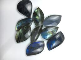 Wholesale Natural Gemstone Carving - 9 pcs Natural tumbled stone crystal quartz pendant healing reiki labradorite pendant moonlight polished gemstone drop shipping