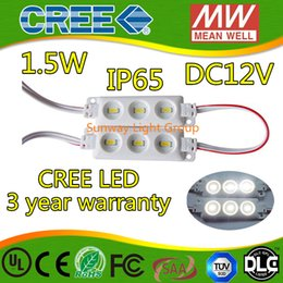 Wholesale Lighted Letters Wholesale - 2016 New Arrival cree 5630 SMD 3leds injection led modules ip65 12V DC LED Advertise letter led Sign Light lighting 1.5w