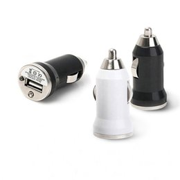 Wholesale Micro Usb Adapter For Tablet - Mini Micro USB Car Charger Adapters - Universal Colorful Car Charger for iPhone 6 iPhone 5 Samsung Tablet for all Cell Phones, Free Shipping