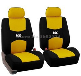 Wholesale Gt Seat Covers - 2 front seats Universal car seat covers MG GT MG5 MG6 MG7 mg3 mgtf accessories car cushions