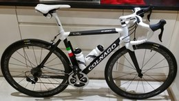 Wholesale Complete Bike Road - White Colnago C60 Carbon Road complete Road Bike Sale+ 50mm Carbon Wheelset 5800  R8000 groupset No Tax