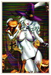 Wholesale Pumpkin Spray - Sexy Pumpkin Beauty , Home Decor HD Printed Modern Art Painting on Canvas   Unframed   Framed