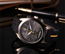 Wholesale Antique Christmas - Super AAA Gold Steel Silicone Watch Elegant Brand Famous Luxury Silver Quartz Men Watches Ladies Antique Gold Wristwatches Relogio 2018 Gift