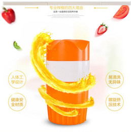 Wholesale Orange Juicer Machines - Manual Juicer Stainless Steel and ABS Mini Squeezed Oranges Watermelons Machine Multifunctional Home Friut Tools