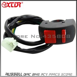 Wholesale Ignition Switch Honda - Motorcycles Kill Switch ON OFF Button for ATV Dirt Bike Scooter Honda PIT BIKE CRF50 XR50 CRF70 CT70