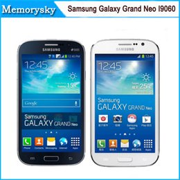 "nota 1 gb ram 16 gb rom Rebajas I9060 Original Samsung Galaxy Grand Neo I9060 teléfono Android 5.0 ""pulgadas 5MP Quad core Dual SIM reconstruido teléfono 3G envío gratuito 002869"