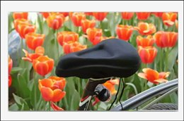 Wholesale Bike Seat Gel Cover - Black Bike Cycling Bike Saddles 3D Silicone Soft Gel Thick Saddle Bicycle Seat Cushion Cover for Sports & Outdoors