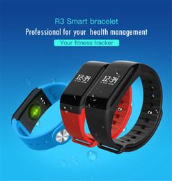 Wholesale Free Gps Monitoring - L8Star F1 R3 Smart Bracelet Bluetooth 4.0 Sport Pedometer Smart Wristbands Heart Rate Monitor Smart Band IP65 Waterproof Free Shipping