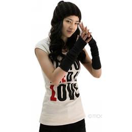 Wholesale Crochet Fingerless Gloves Wholesaler - Wholesale-Unisex Autumn Winter Hand Arm Gloves Crochet Knit Long Stretchy Warm Fingerless Gloves 2015 New Fashion Women Men Warmer Mitten