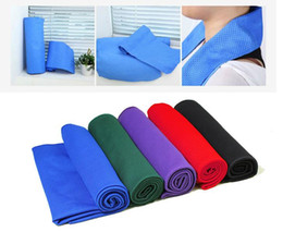 Wholesale Microfiber Towel Hair - Colling Towel Microfiber Cold Towel Chilly Pad 90x30cm XL Large Size Ice Towe for All Sports and Outdoor Activity