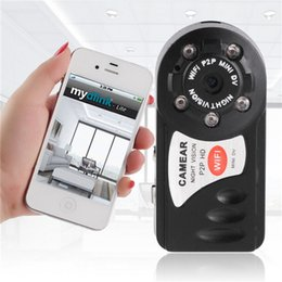 Wholesale Wifi Security Cameras For Android - 1pc Top Sale Wireless WIFI P2P Mini Remote Surveillance Camera Security FOR Android for IOS PC