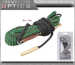 Wholesale Bore Snake Gun Cleaner - TACVector Optics .223 5.56mm .22 Caliber Rifle Barrel Bore Snake Rope Fast Cleaning with Brush Gun Oil Boresnake Accessory Kit