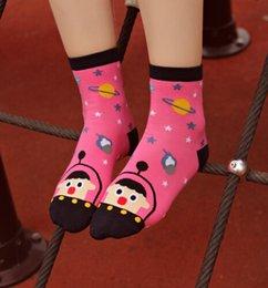 Wholesale Cute Aliens - Alien Socks Hosiery Korea Socks 3d Cartoon Socks Ladies Socks Funny Socks Winter Socks Cute Animal Socks Cotton Socks Ankle Socks m001051