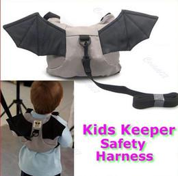 Wholesale Safety Harness Toddler Bat - Baby Kid Keeper Toddler Walking Safety Harness Backpack Bag Strap Rein Bat Free shipping order<$18no track