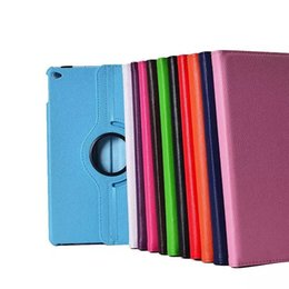 Wholesale Tablet Pc Abs - Rotated Cases For Tablet PC iPad 2 3 4 iPad Air 2 1 iPad Mini 3 2 1 with PC Cover Smart Function and Fold Stand