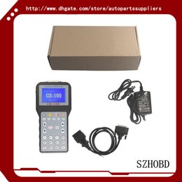 Wholesale Auto Repair Software Free - Key Programmer car tools CK-100 Auto Key Programmer V99.99 ck100 CK 100 Newest Generation SBB With 1024 tokens DHL free