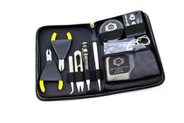 Комплект vape rda онлайн-Оригинальный LTQ портативный RDA tool kit RDA tools RDA rebuild kits A1 керамические пинцеты для Vape Mods RBA RTA катушки атомайзер DIY DHL