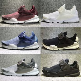 Wholesale Womens Black Boot Socks - 2017 New Air Presto Mens Womens Running Shoes Black Gray Sock Dart SE Boot Cheap Men Sport Shoes Outdoor Trainers Sneakers huarache
