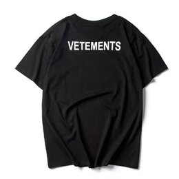 2017 NEW TOP SS16 Été vetements lettre impression hommes Noir Blanc à manches courtes t-shirt hiphop STAFF Mode Casual coton tee S-XL ? partir de fabricateur