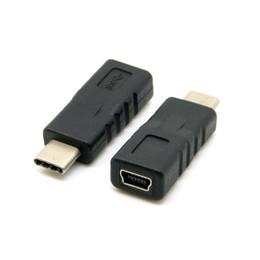 Porcellana da tavoletta online-All'ingrosso USB-C USB 3.1 Tipo C connettore maschio a Mini USB 2.0 5 pin femmina dati adattatore per Nokia N1 Tablet telefono cellulare, da China Post