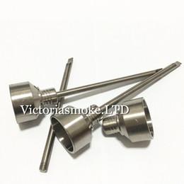 tetta Sconti Calda vendita tit titanio Carb titanio titanio GR2 con titanio dabble sulla parte superiore con tre fori angolari per 10mm 14mm 18mm