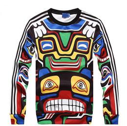 Wholesale Modelling Maya - FG1509 Maya Indian totem hoodies for men women thin style o neck long sleeve Hot model sweatshirt size S-XL free shipping