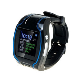Wholesale Gps Watch Mp4 - Smart TK109 GPS Watch Tracker TK109 Real-time Global Quadband GSM GPRS GPS Watch tracker remote monitor SOS two way with retail box