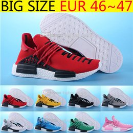 Wholesale Nipple Out - Yellow Hot New updated version BB0619 HUMAN RACE Shoes Pharrell Williams X NMD Originals Quality With Nipples Men Running Shoes Size 36-47