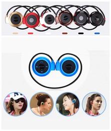 Wholesale Stereo Headphones Wireless Ipad - Mini 503 Wireless Bluetooth Stereo Headphone Handsfree Sports Music in-ear Earphone Headset for Iphone 6 5S Ipad Samsung S4 S5 HTC LG US04