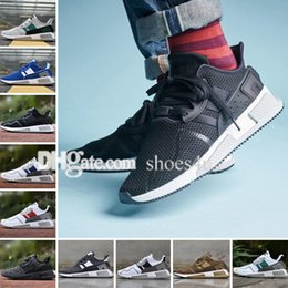 Wholesale North Europe Lighting - EQT Cushion ADV shoe 91-17 Man Running shoes core Black Friday Asia limited Europe Exclusive North America Women Equipment Sport Sneakers