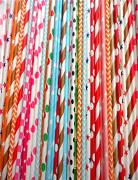 Wholesale Drinking Straws Red White - Party Drinking Paper Straws Birthday Wedding Authentic Factory Is The Highest Quality Food Grade Biodegradable Kraft Paper Straw