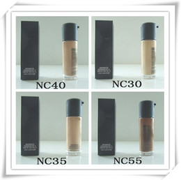 Wholesale Face Factories - 30pcs Best Factory Direct DHL Free Shipping New Makeup Face 35ml NC Colors Series Matchmaster Foundation Liquid