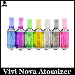 Wholesale Clearomizer W - 3.5ml Vivi Nova BDC Atomizer Clearomizer vivi nova Cartomizer For Electronic Cigarette EGO T W E-Cigarette
