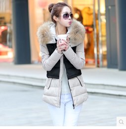 Wholesale Korean Winter Coats For Women - Wholesale-Winter Coats All Female Cotton Padded Coat Thick Tide Down Coat Long Jacket Korean For Women's Plus Size Women Clothing