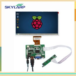 Wholesale Driver Board For Lcd - Wholesale- skylarpu 9 Inch for AT090TN10 Raspberry Pi LCD Screen TFT Monitor with HDMI VGA Input Driver Board Controller (without touch)