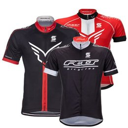 Wholesale compress clothing - 2017 Cycling Tops Felt Short Sleeves Cycling Jerseys MTB Ropa Millot Quick Dry Compressed Bike Wear Summer For Men XS-4XL Bicycle Clothing