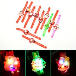 Wholesale Teenage Watches - Wholesale Christmas Gifts Luminous Cartoon Creative Watches Flash Wristbands Luminous Bracelets Children's Toys