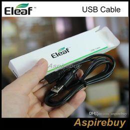 Wholesale Electronic Wattage - Eleaf USB Cable for e Electronic Cigarette ismoka eleaf Ismoka istick Battery Mod Wattage Batteries Mods Universal for All Eleaf Product