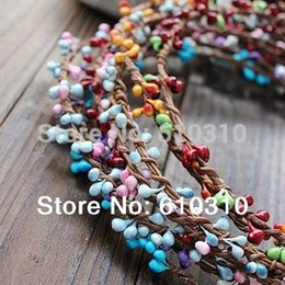 Wholesale Pip Green - 40cm pretty pip berry stem for floral bracelet wreath wedding diy wreath Package Free Shipping New