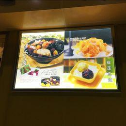 Wholesale Restaurant Menu Boards - led restaurant slim menu board