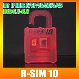 Wholesale Cdma Verizon Wholesale - Best New RSIM 10 Super perfect R SIM 10 Unlock ALL iPhone6 6P 5S 5C 5G 4S Official IOS6.x-8.x T-mobible Docomo Sprint Verizon GPP GSM CDMA