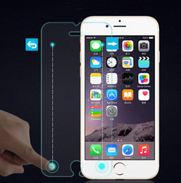 Wholesale Magic Protectors - For iphone6 Smart 9HD tempered glass screen protector protective film for iphone 6 6plus magic touch with button glass film with retail box