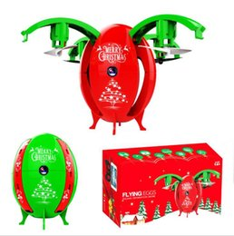 Wholesale Ma Year - 2.4G Christmas Drone With Camera Mini Selfie Not-Wifi Drone Gravity Sensor Rc Helicopter Drones 720p 480P X-mas Egg Toy For Kids Gift