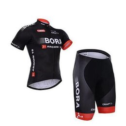 Wholesale Cheap Bibs - cheap BORA ARGON 18 Craft Short Sleeve Cycling Jerseys Bicycle Wear Bora Cycling Clothing(Bib None Bib Pants)Outdoor Equipments S-4XL