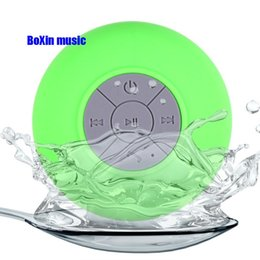 Wholesale Portable Shower Floor - Wholesale- Bluetooth Shower Speaker, Mini Portable Waterproof Speakers for Android iPhone with Suction Cup and Hands-Free Speakerphone